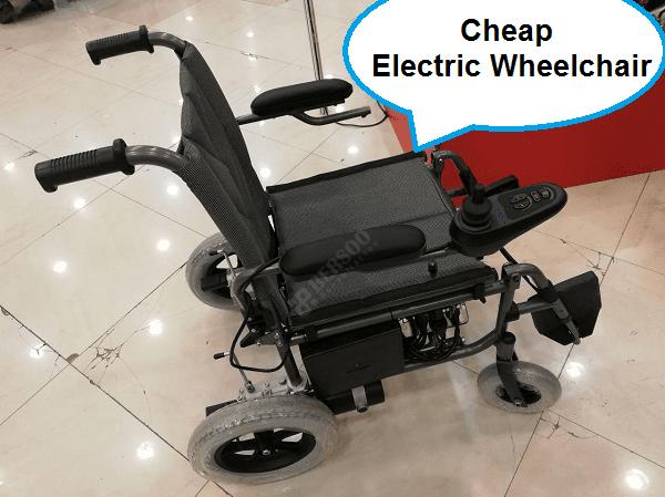 ارزانترین ویلچر برقی - استار (۱)
