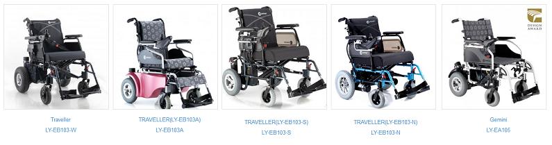 انواع ویلچر تاشو برقی کامفورت
