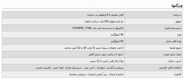 ویلچر برقی ایرانی