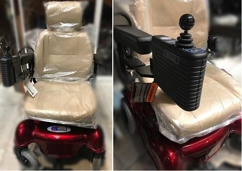 ویلچر برقی مبله رومبا مدل hp44 - 1