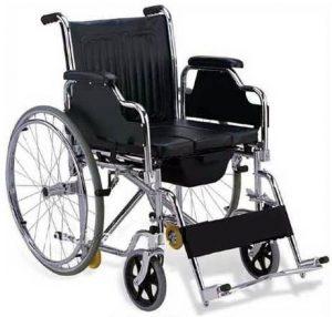 ویلچر حمامی 6 چرخ