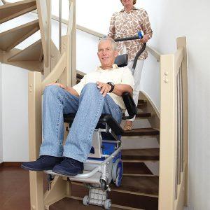 ویلچر پله رو اتریشی سانو Sano (جکدار) press (10)