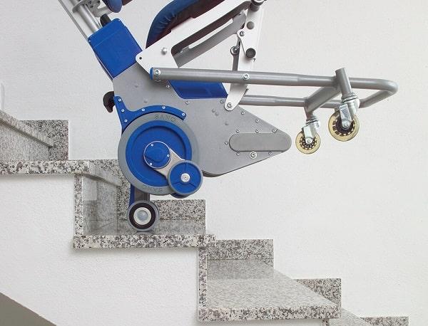 ویلچر پله رو اتریشی سانو Sano (جکدار) press (9)